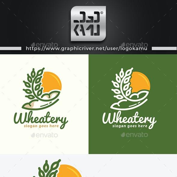 Wheat Bakery Logo