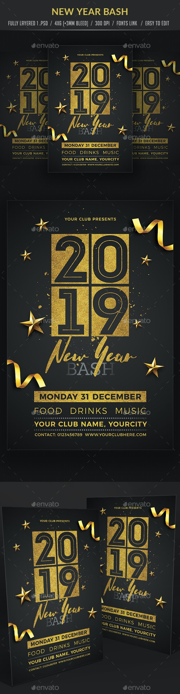 New Year Bash - Clubs & Parties Events