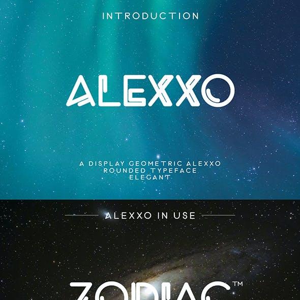 Alexxo Typeface - Font Duo