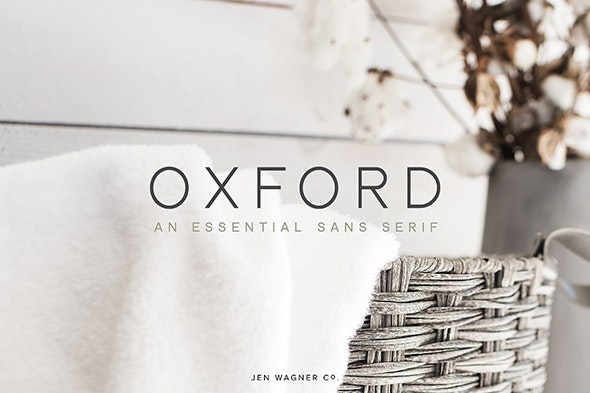 Oxford | An Essential Sans Serif - Sans-Serif Fonts