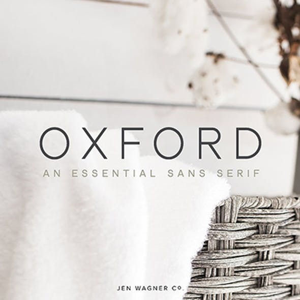 Oxford   An Essential Sans Serif