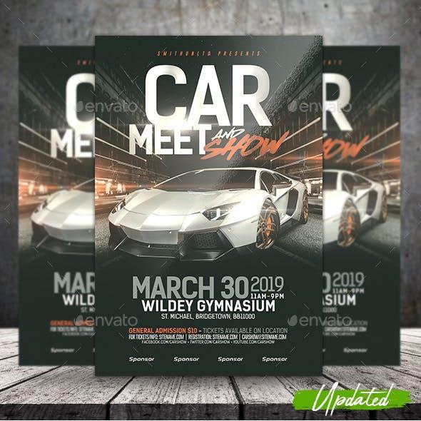 Car Show & Meet Flyer