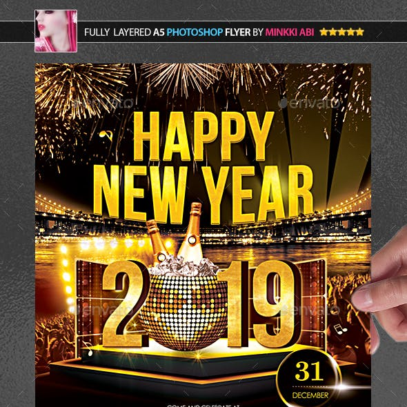 Happy New Year Poster/Flyer