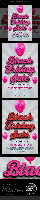 Black Friday Sale Flyer - Holidays Events