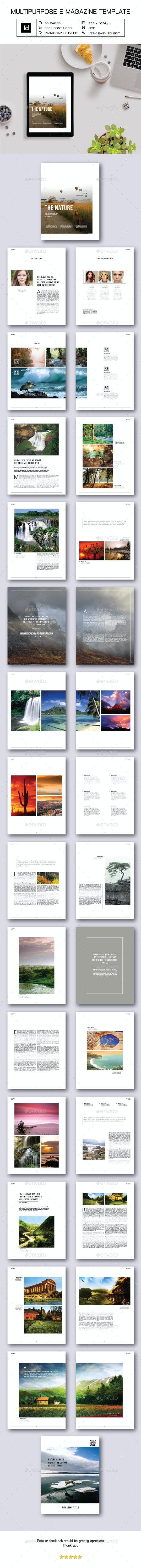 Multipurpose E-Magazine III - Digital Magazines ePublishing
