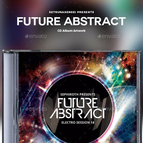 Future Abstract CD Album Artwork