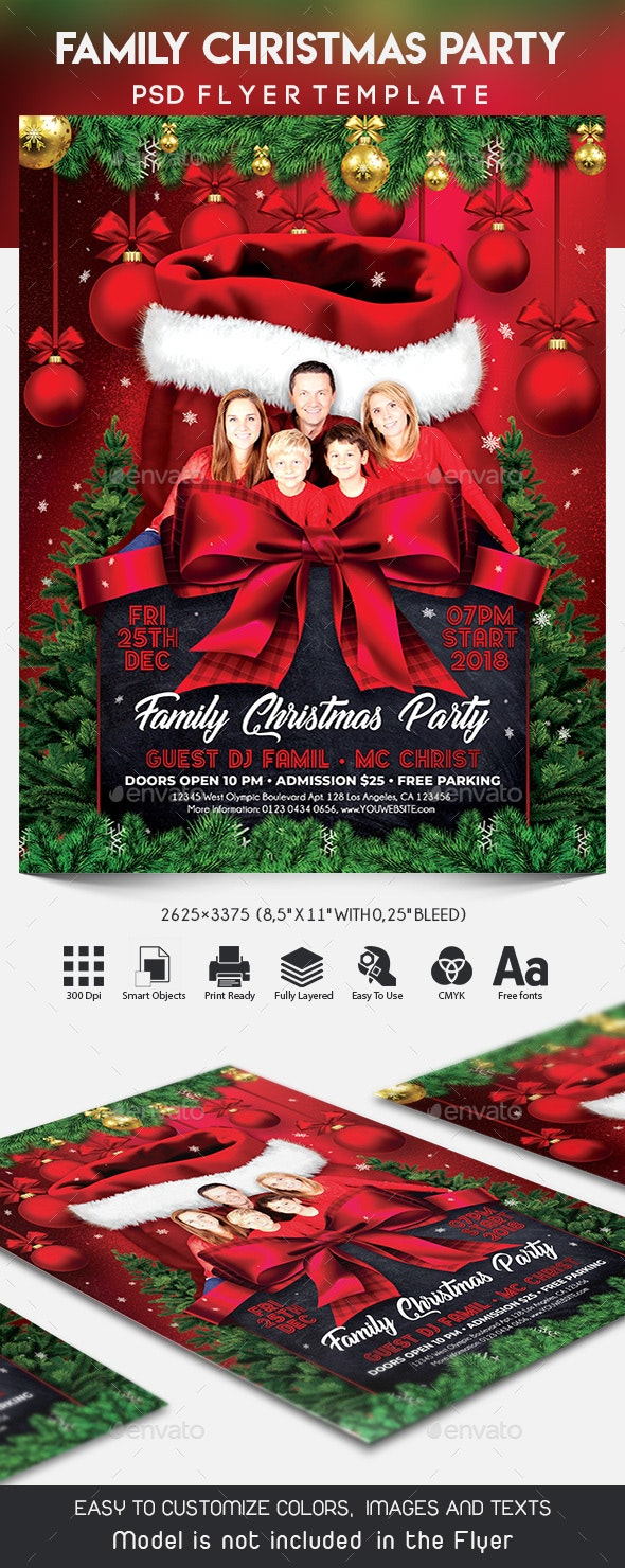 Family Christmas Party - Holidays Events