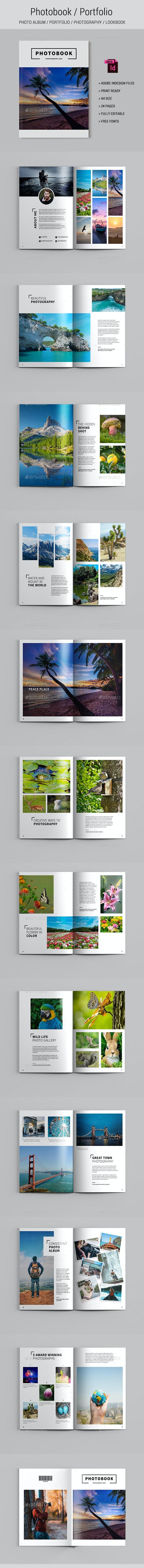 Photo Album / Portfolio - Photo Albums Print Templates