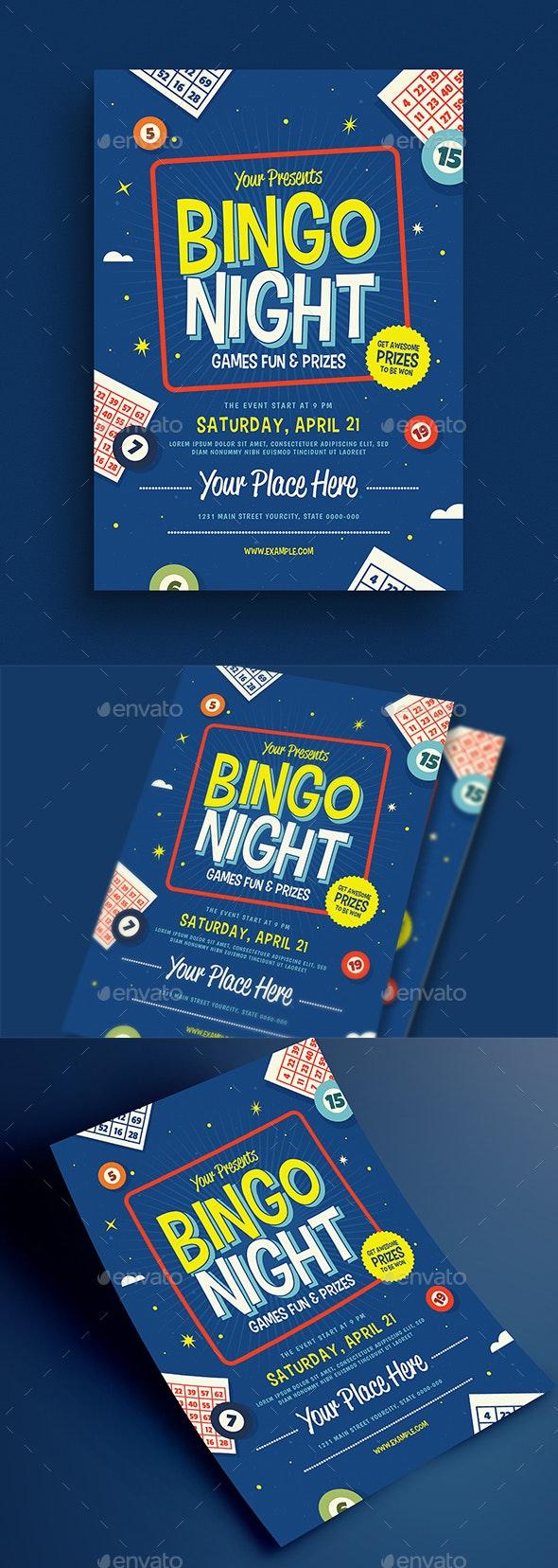 Bingo Night Event Flyer - Events Flyers