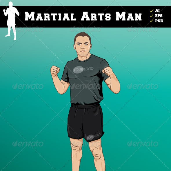 Martial Arts Man