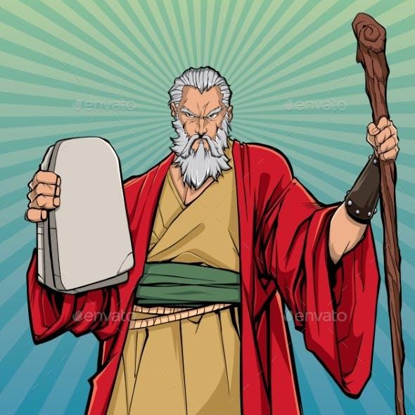 Moses Religious Icon