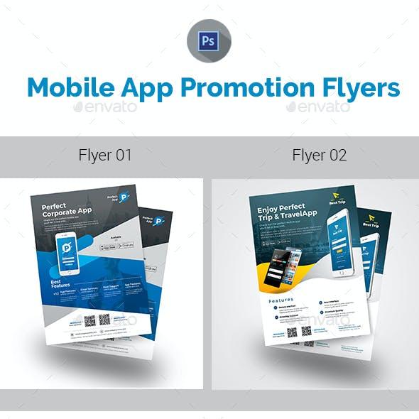 Mobile App Flyer Bundle