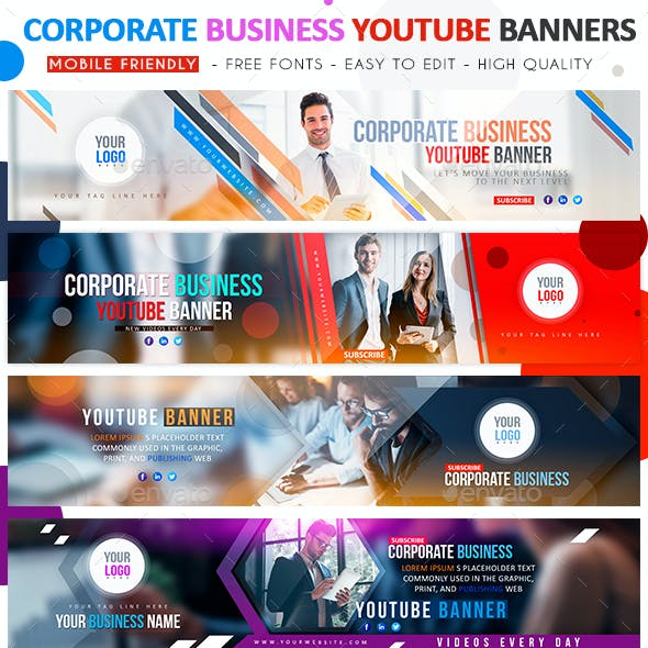 Corporate Business YouTube Banner