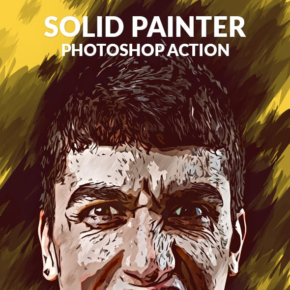 Solid Painter Photoshop Action