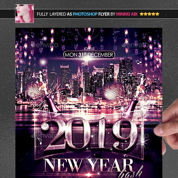 New Year Bash Poster/Flyer