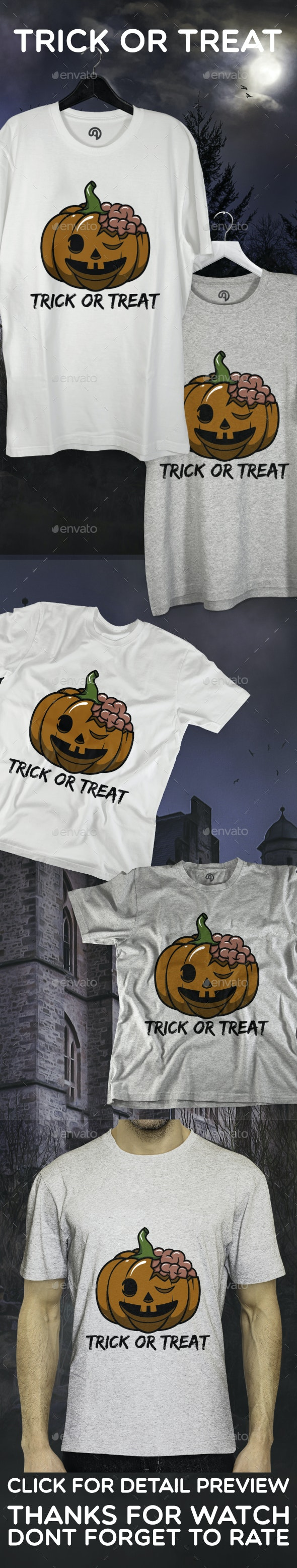Pumpkin Trick or Treat - Events T-Shirts