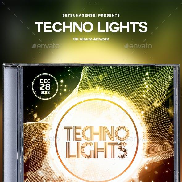 Techno Lights CD Album Artwork