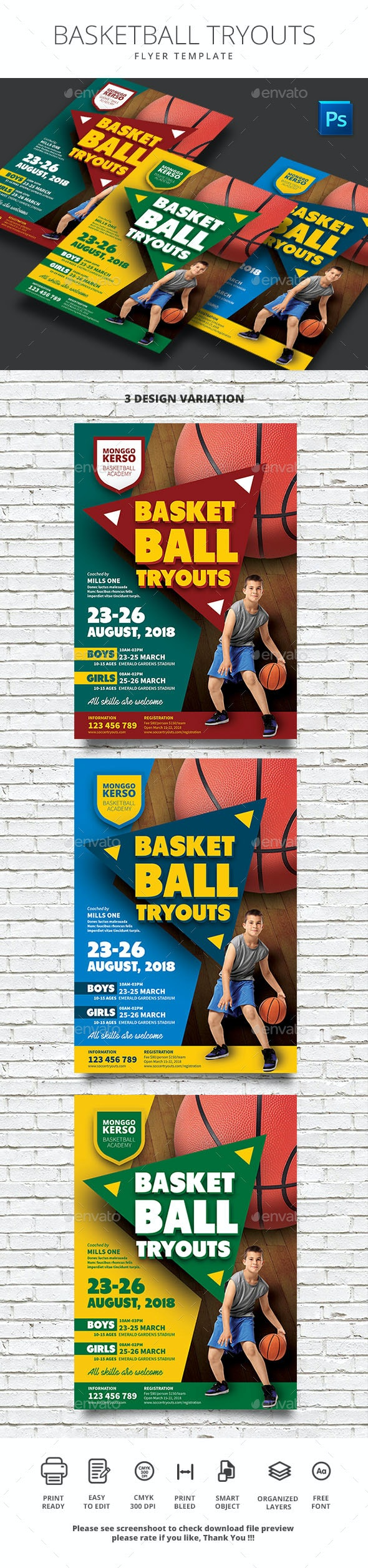 Basketball Tryouts - Sports Events
