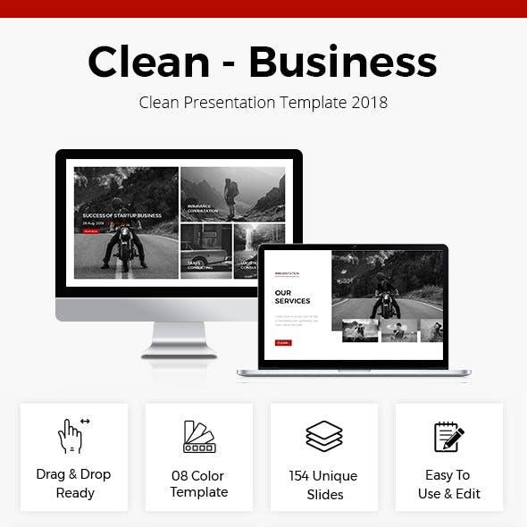 Business Presentation Template 2018
