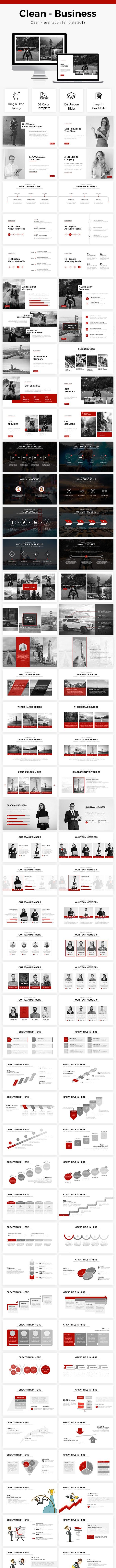 Business Presentation Template 2018 - Business PowerPoint Templates