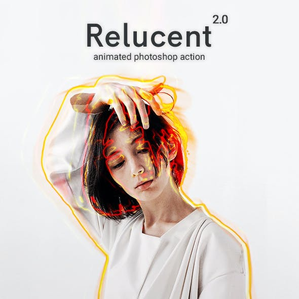 Animated Relucent 2.0 - Photoshop Action