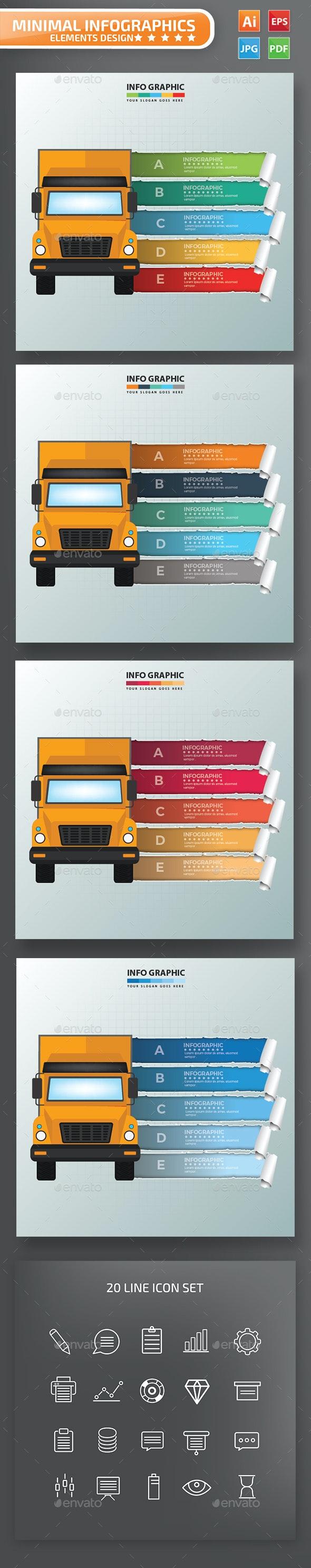 Truck Infographics Design - Infographics