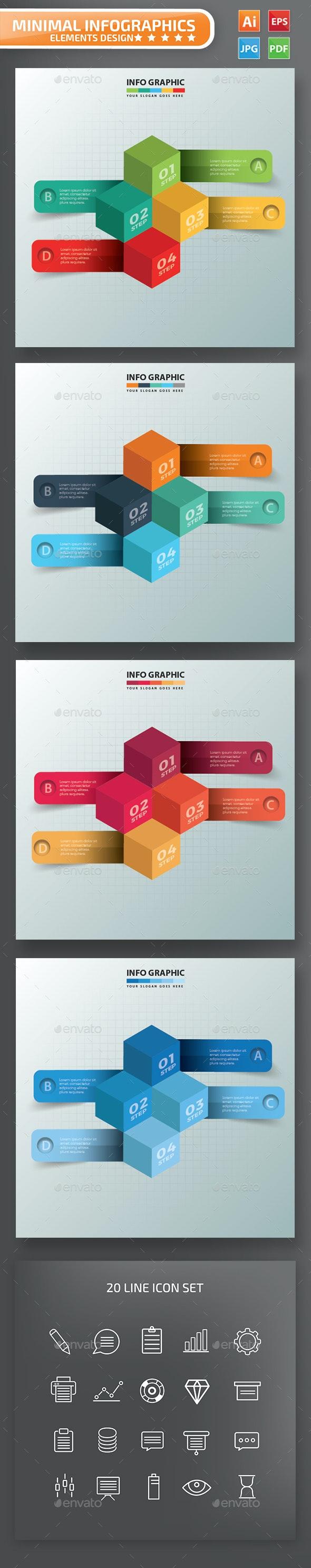 Cube Infographics Design - Infographics