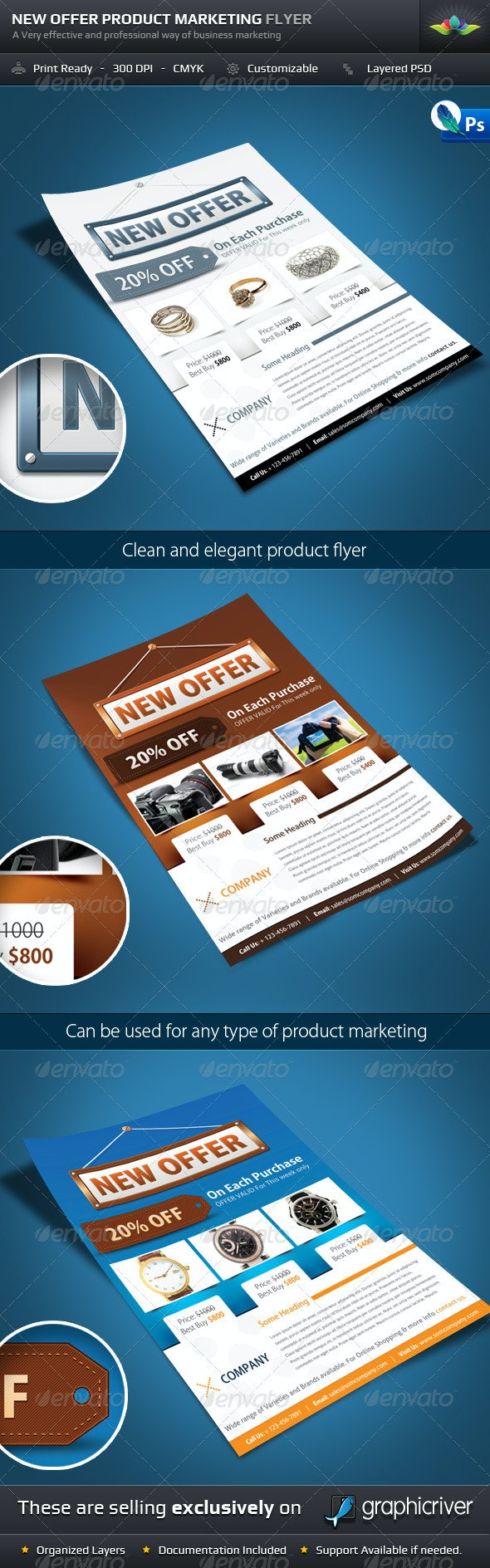 New Offer Product Marketing Flyer - Corporate Flyers