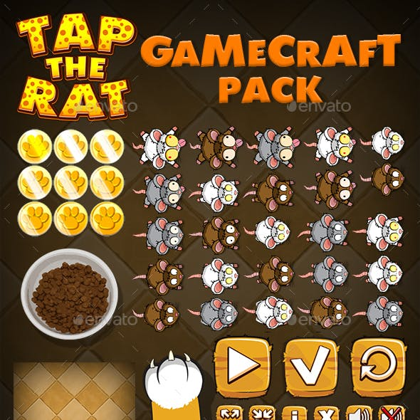 Tap the Rat - Game Assets