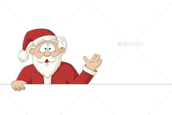 Happy Santa Claus - Christmas Seasons/Holidays