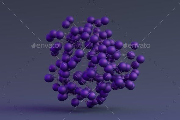 Abstract 3D Modern Background - Abstract 3D Renders