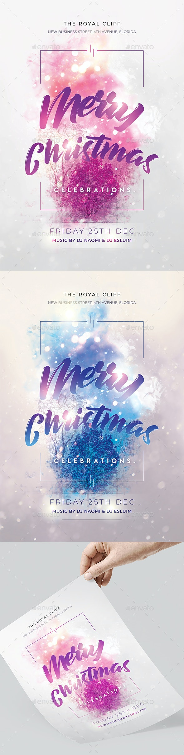 Christmas Celebration Flyer - Clubs & Parties Events