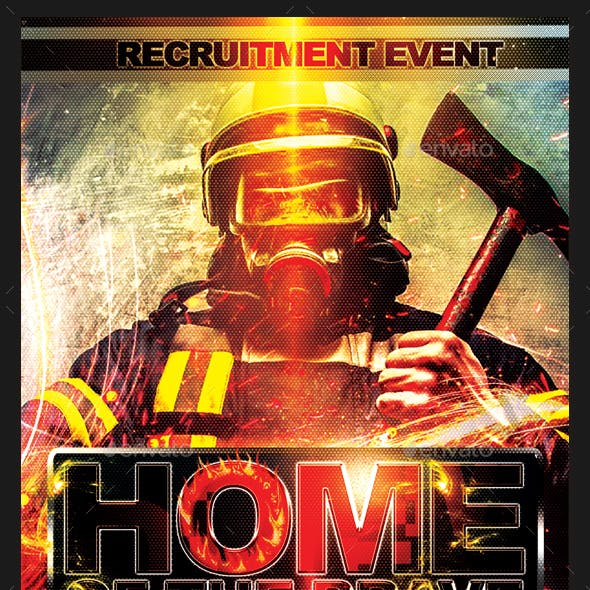 FireFighter Recruitment Flyer