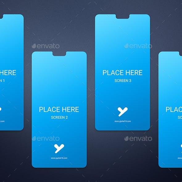 Minimal Smartphone Screens