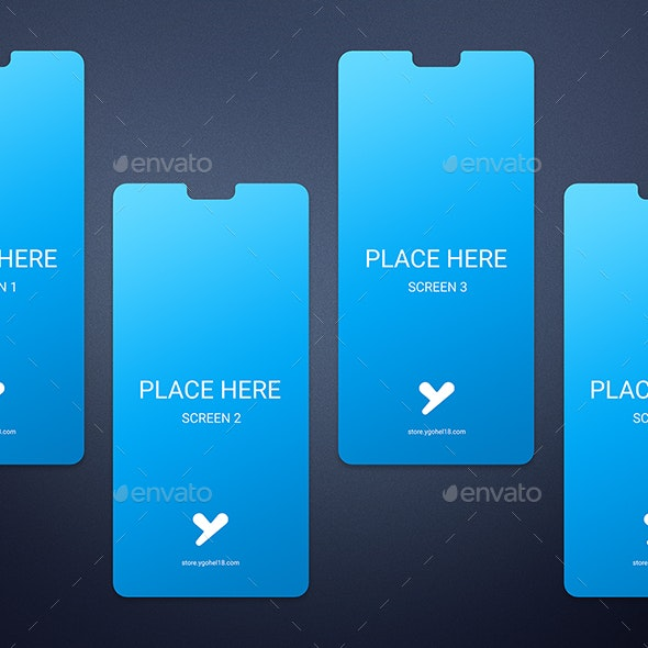 Minimal Smartphone Screens - Mobile Displays