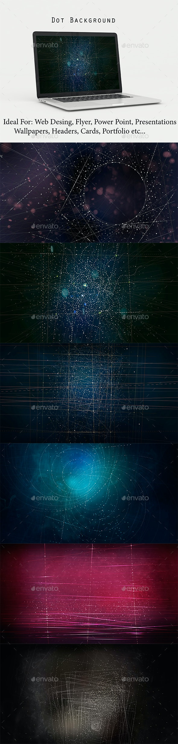 Dot Background - Abstract Backgrounds