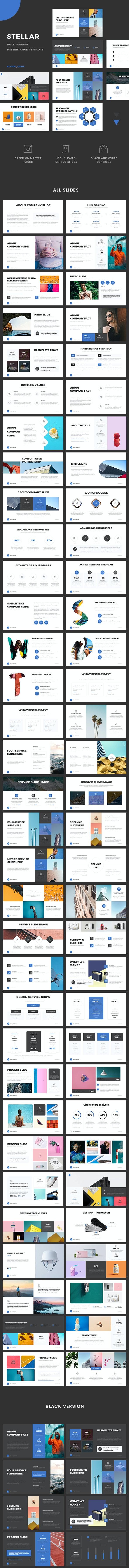 Stellar - Corporate Presentation - PowerPoint Templates Presentation Templates
