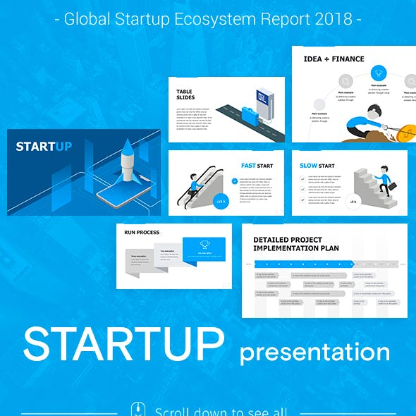 Start up Pitch Keynote Template