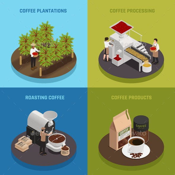 Coffee Industry Design Concept