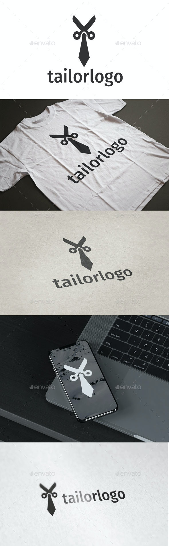 Tailor  Logo - Objects Logo Templates