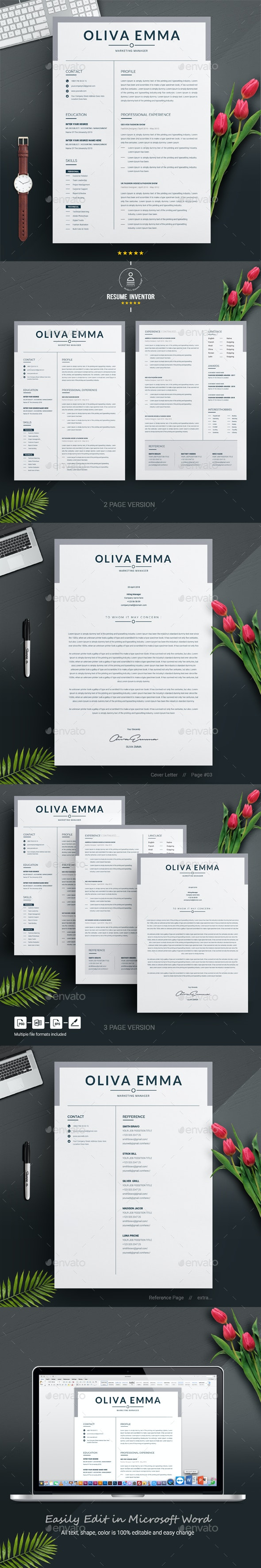 CV - Resumes Stationery