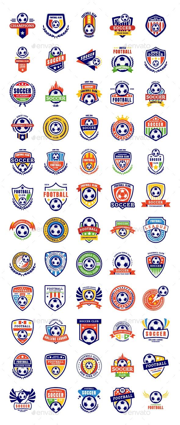 Soccer Badges - Decorative Symbols Decorative