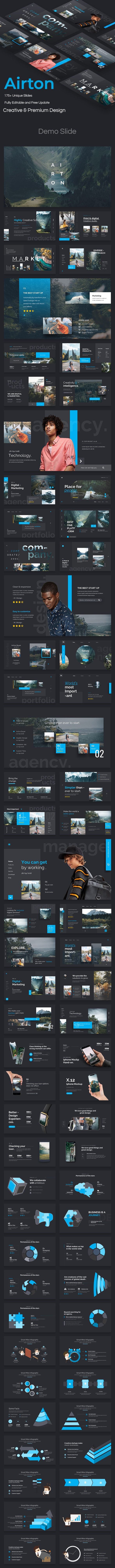 Airton Premium Powerpoint Template - Creative PowerPoint Templates