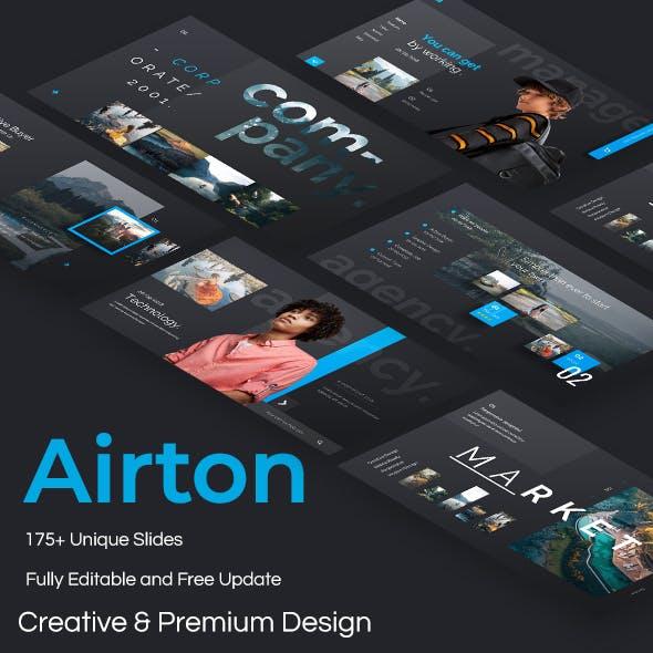 Airton Premium Powerpoint Template
