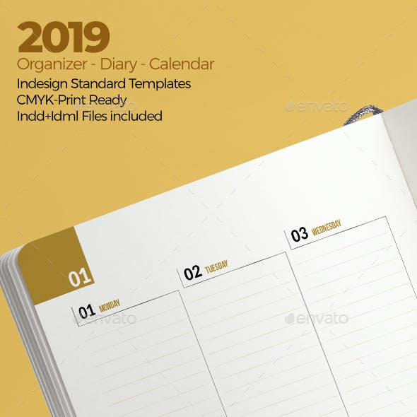 Weekly Diary Planner 2019 v3