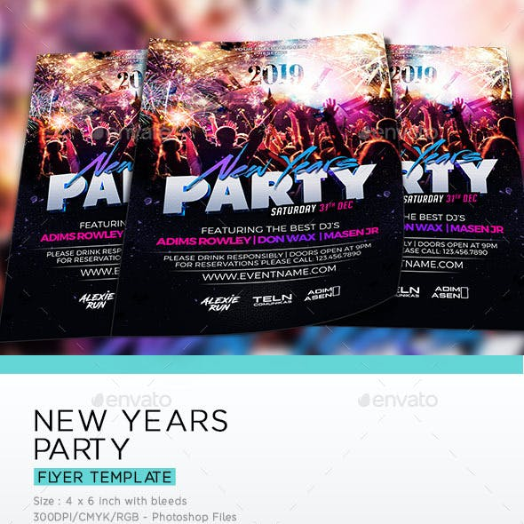 New Years 2019 Party