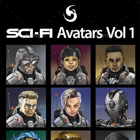 SciFi Characters Avatar Vol.1