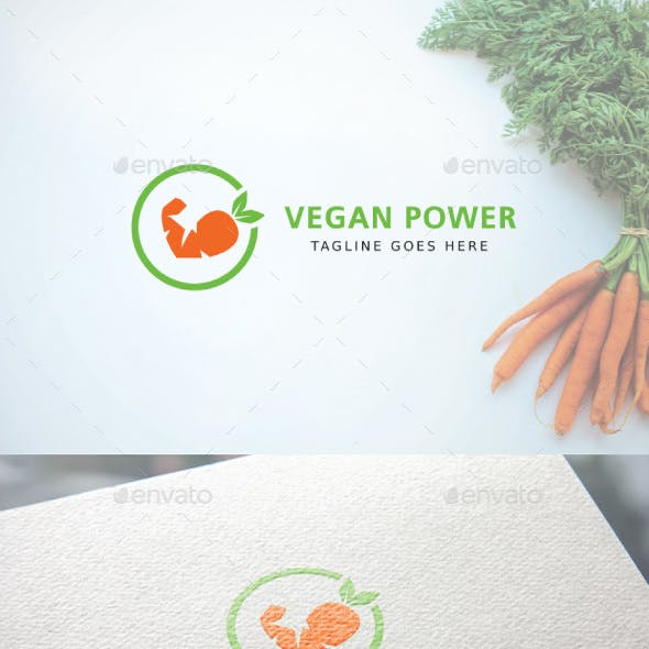 Vegan Power Logo
