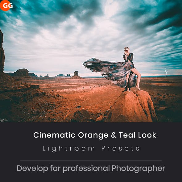 20 Cinematic Orange & Teal Look Lightroom Preset