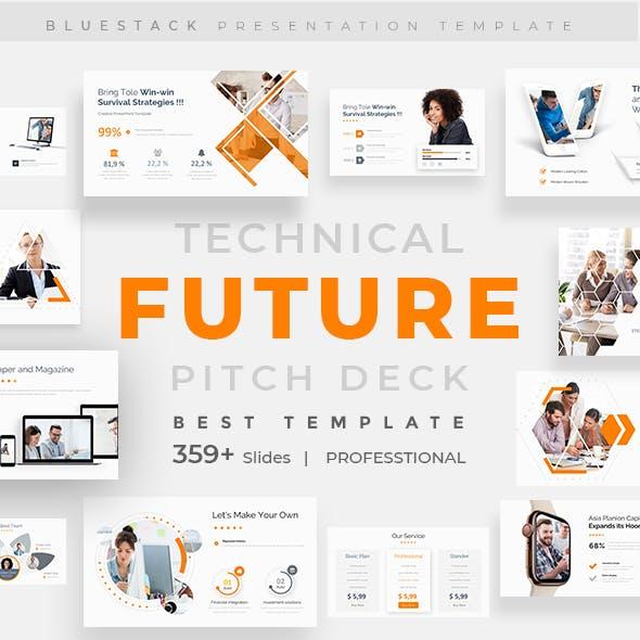 Future Tech Pitch Deck Powerpoint Template